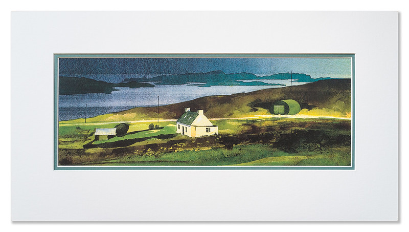 "A print of ""Summer Isles"" by Ian Nelson"