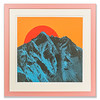 Screen print 'Blue Mountains' by Victoria Benvegnú