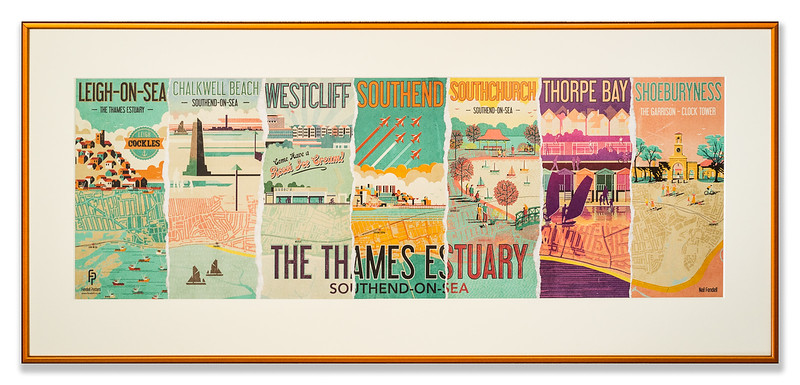 Poster promoting the Thames Estuary