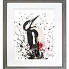 Original watercolour of Woodpecker by Scottish Artist Mike Ross
