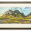 Limited edition print of Buachaille Etive More by Bethan Nadin