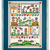 Cross-stitch framed by Picture Framing For You.
