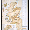 French map entitled 'Les Distilleries Écossaises' showing the location of Scottish whisky distilleries.