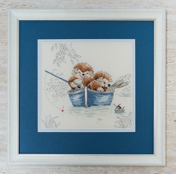 Cross-stitch Framed by Picture Framing For You