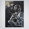 Jazz Saxophonist Dexter Gordon by Janet Hayball