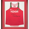 Running Vest worn by David Rudisha, Olympic Gold Medalist