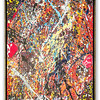 Abstract Oil Painting by Local Artist