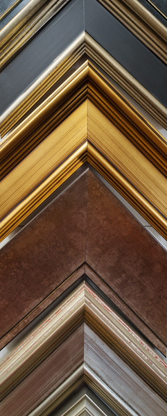 A few of our wood frame samples