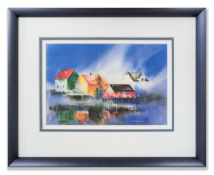"Limited edition photo print from Galleri Nord (Tromsø) ""Kjærlighet til havs"" (Love at Sea) by Norwegian artist Anne Gundersen"