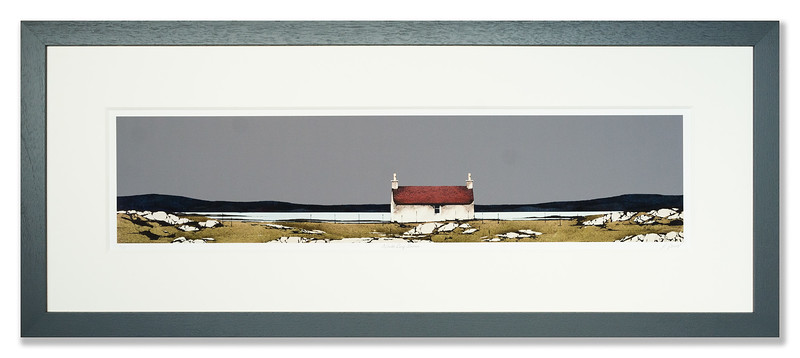 Artists proof of North Bay Barn by Ron Lawson
