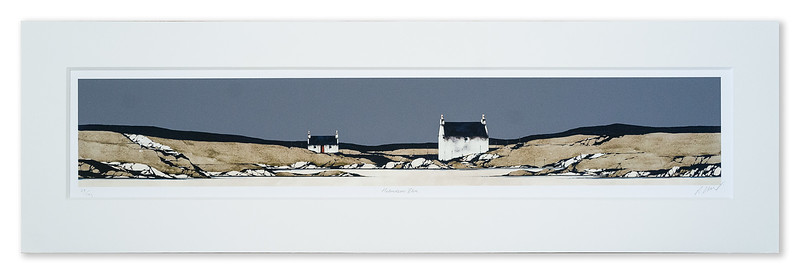 Ron Lawson Limited Edition Print Hebridean Blue