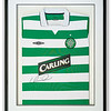 Celtic Football Club shirt signed by Henrik Larson