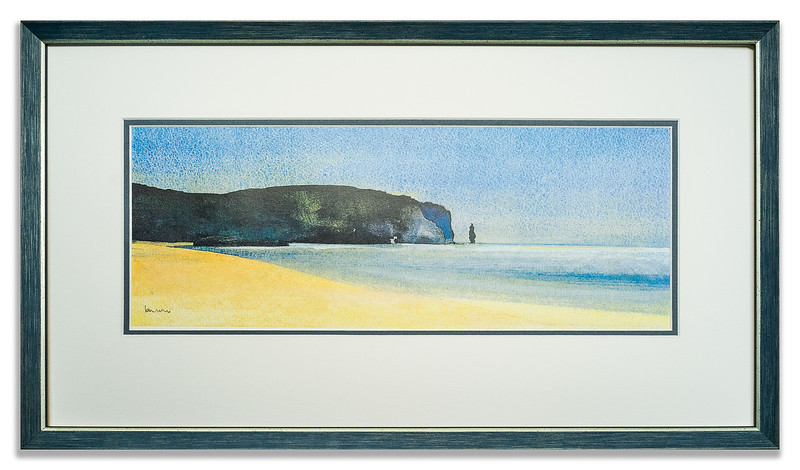 Limited edition print Sandwood Bay by Ian Nelson