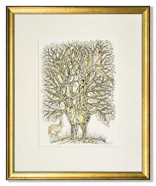 Original commissioned art work 'Guided by a Hidden Strength' by David Andrews.
