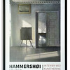 Exhibition Poster for Vilhelm Hammershøi at Denmark's National Art Gallery