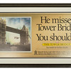 Poster for the Tower Bridge in London