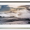 Photograph, Loch Lomond from snowy hill top