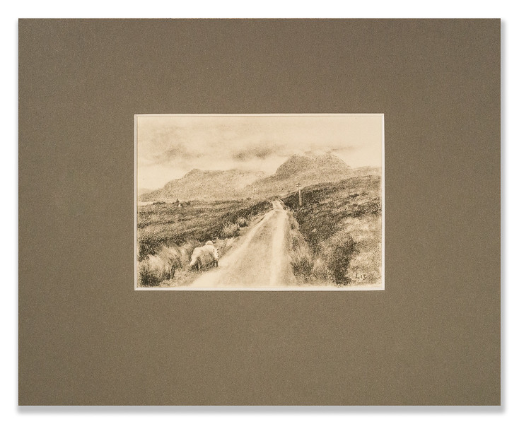 Collotype by List West of Sail Mhor