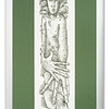 """Etching, """"The Ecologist"""" by Ian Brady"""