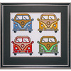 Bespoke needlework design by Stuart Beattie, Camper Vans.