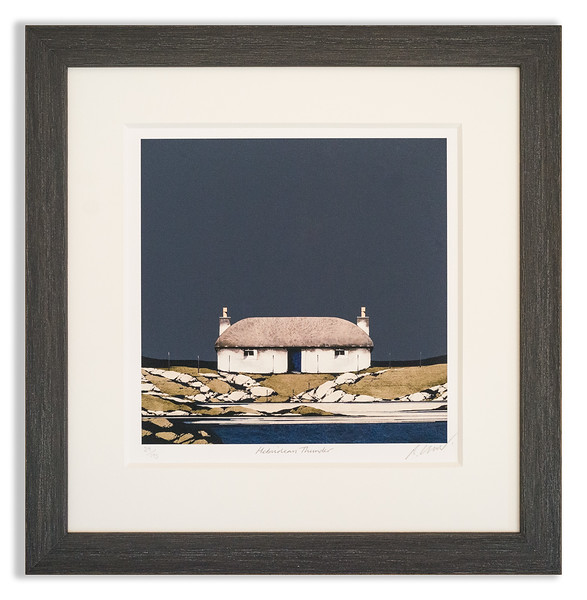 Limited edition print by Ron Lawson, Hebridean Thunder