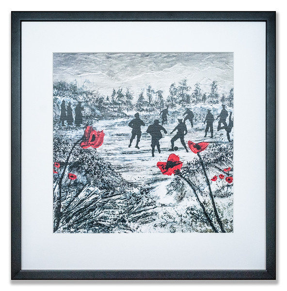 War Poppy Collection print by Jacqueline Hurley