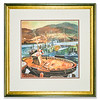 Ullapool Harbour, a print by Ross-shire artist Janis Mennie