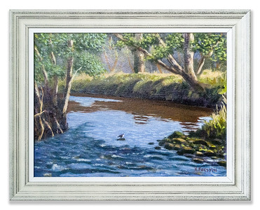Original Oil Painting: The Dipper by Robert Forsyth