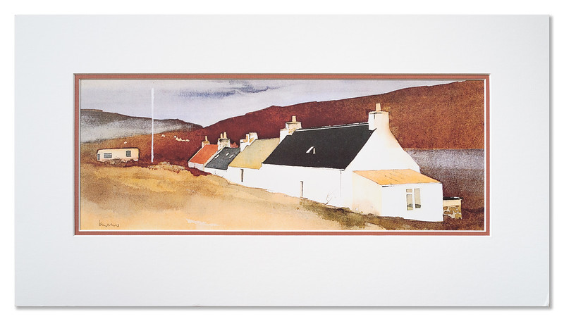 "A print of ""Ard-Dubh, Applecross"" by Ian Nelson"