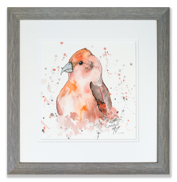 Original watercolour of  by Scottish Artist Mike Ross