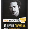 Poster of 'Giovanni' Jack Savoretti at Teatro Ponchielli