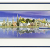 Print of Inverness landmarks by Graeme Hewitson