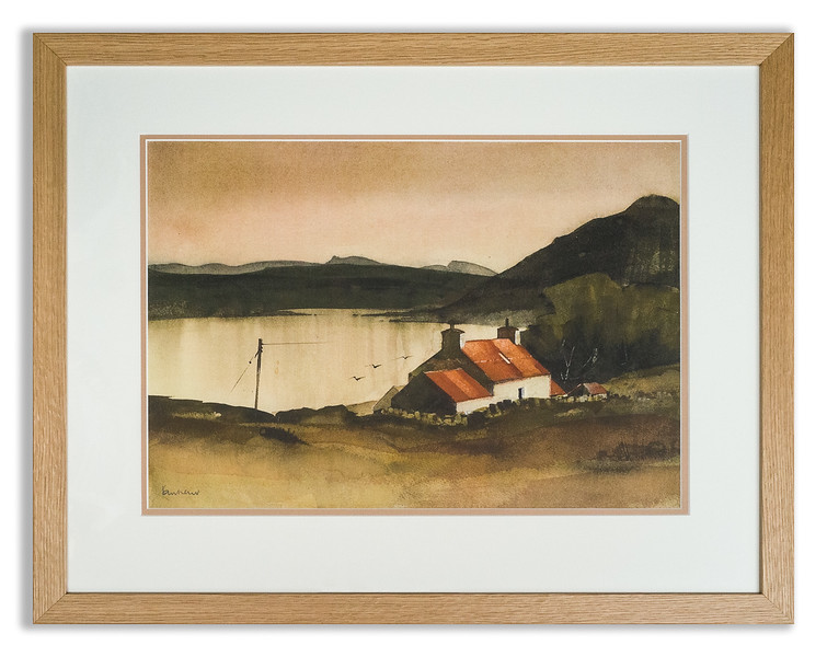 "Print, ""Little Loch Broom"" by Ian Nelson"