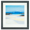 Lithograph by Scottish landscape artist, Pam Carter, entitled Low Tide