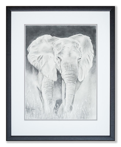 Original drawing of elephant by David Tyson