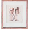Frame Acrylic of Ballet Shoes by unknown artist