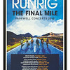Runrig Poster 'The Final Mile' advertising their farewell concerts in 2018