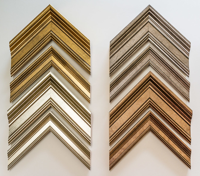 The Galleria range of Nielsen mouldings.
