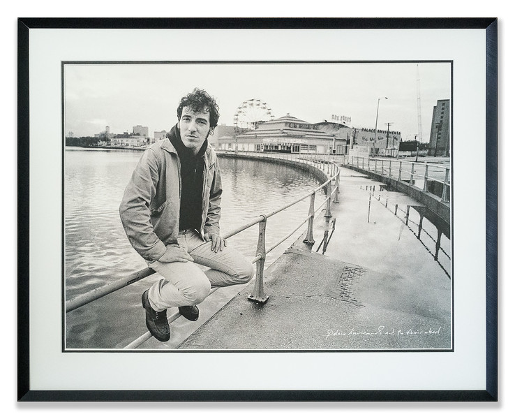Photo, Bruce Springsteen, New York, Palace Amusements and Ferris Wheel
