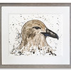 Original watercolour of a Bonxie by Scottish Artist Mike Ross