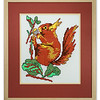 Cross-stitch of a Squirrell by Stuart Beattie