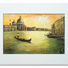 Oil painting of the Grand Canal, Venice