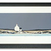 Limited edition print Blue Boat by Ron Lawson