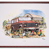 """Set Aside"", a landrover print by Pete Wilford"
