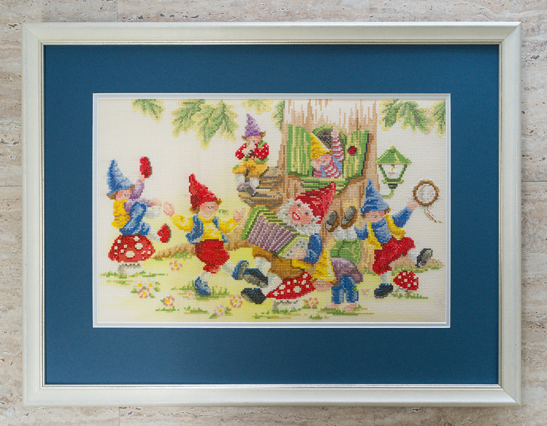 Needlework framed by Picture Framing For You