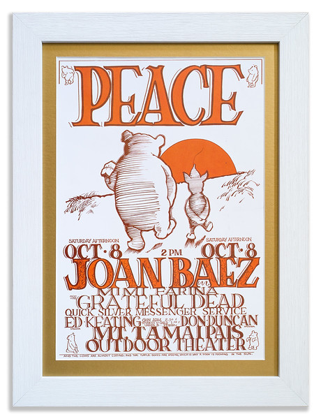 Poster for a Joan Baez Concert