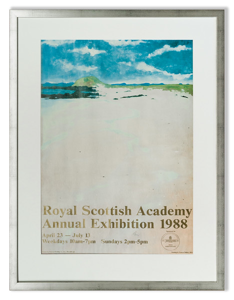 Royal Scottish Academy Annual Exhibition 1988 Poster