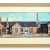 Pre-mounted print, Dingwall Station by Janis Mennie