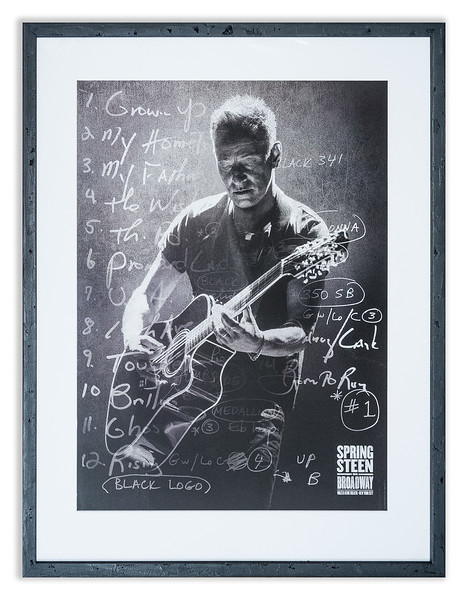 Lithograph of Bruce Springsteen