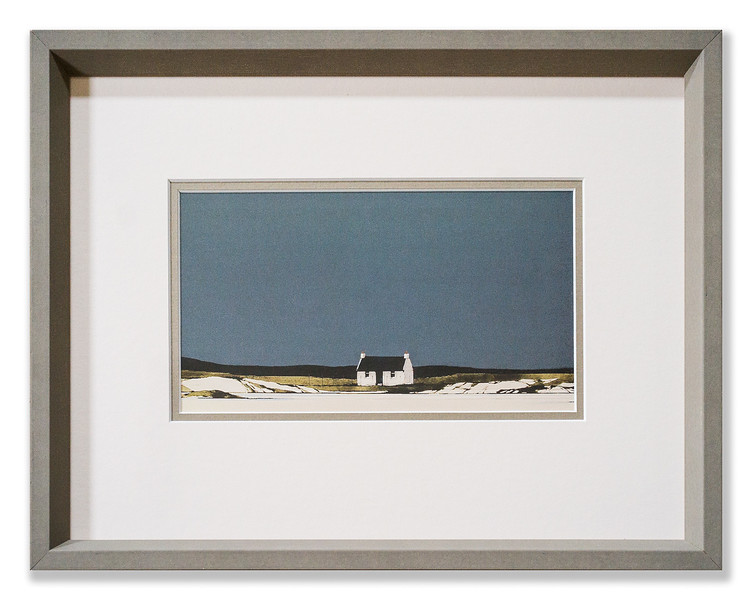 Print by the Scottish landscape artist Ron Lawson